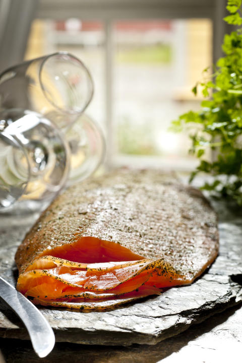 Vor allem norwegischer Fisch und Meeresfrüchte sind bei deutschen Urlaubern beliebt.