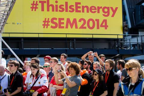 Stemningsbillede fra Shell Eco-marathon 2014