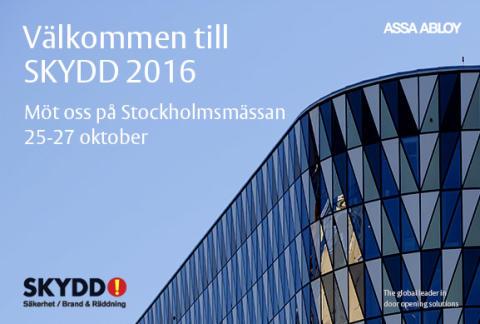 ASSA välkomnar dig till SKYDD 2016