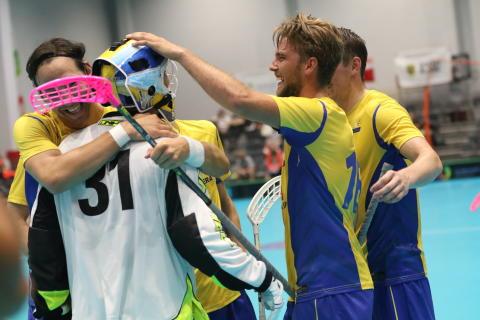 Sverige nollade Schweiz i The World Games - Klintsten hyllas