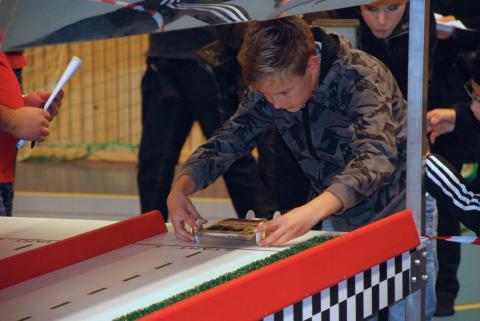 Solracet Deltävling 1 Ängelholm - Bilen på tävlingsbanan