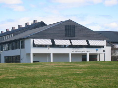 Besøk fra Eidsvoll videregående skole