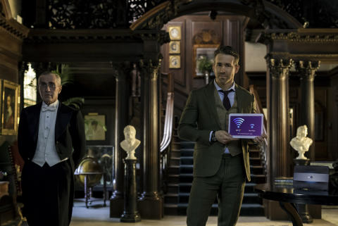Ryan Reynolds returns to demonstrate the power of BT Infinity