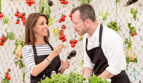Danmarks største organisation, der bekæmper madspild får kongeligt besøg