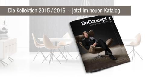 BoConcept: Fall in love 2016 – der neue Katalog ist da!