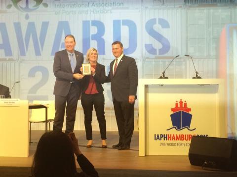 Göteborgs Hamn prisas för sin kommunikation