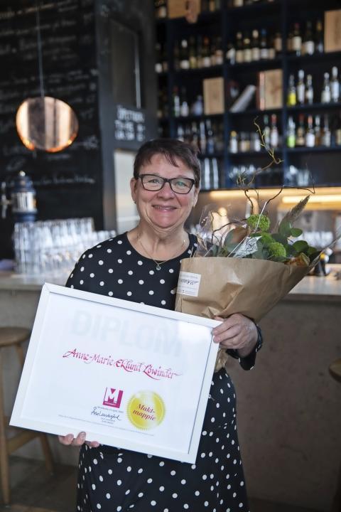 Årets Maktmappie, Anne-Marie Eklund Löwinder