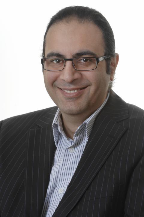 ÅRETS PROSJEKTLEDER. Manbir Sawhney i Sopra Steria har mottatt den høythengende prisen «Årets prosjektleder» av PMI Norge. Foto: Sopra Steria