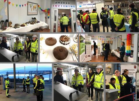 Pilotanläggning över Stockholms framtida vattenrening invigdes