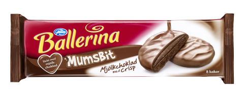 Ballerina Mumsbit Mjölkchoklad