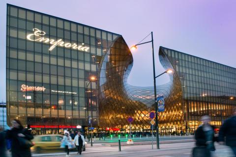 Systemtext levererar skyltlösningar till Stars and Stripes nya restaurang på Emporia i Malmö