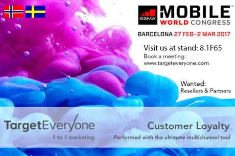 TargetEveryone will attend Mobile World Congress in Barcelona