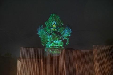 Garuda Wisnu Kencana dan Epson Tunjukkan Mahakarya Hasil Kolaborasi Teknologi dan Tradisi