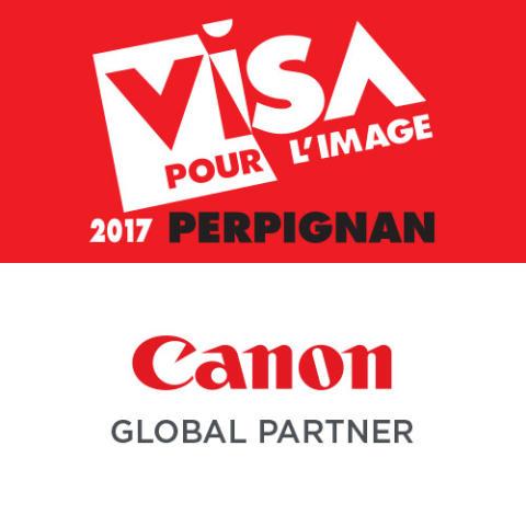 Logo Canon og VISA