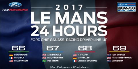 INFOGRAPHIC - 2017 Le Mans Drivers