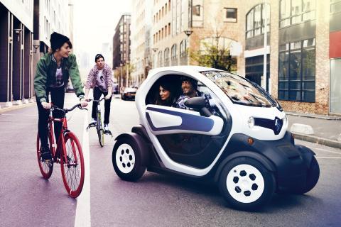 Renault Twizy – byens favorit
