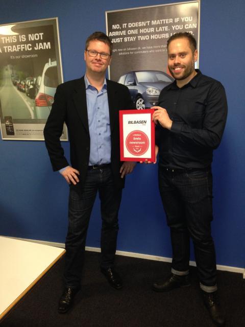 Vinder af Årets Newsroom: Bilbasen