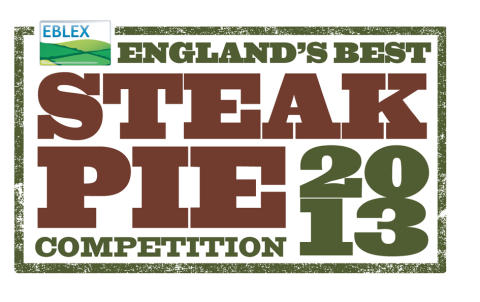 ENGLAND'S BEST STEAK PIE COMPETITION BACK FOR 2013 -  GET YOUR ENTRIES IN NOW!