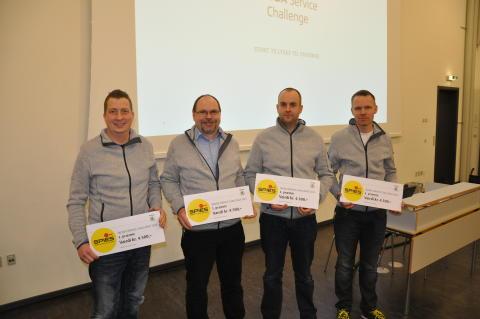 Vinderne af SKODA Service Challenge 2016
