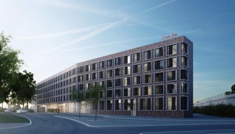 Quality Hotel Star Inn Premium Hannover, Germany. GE229. Exterior. Rendering.