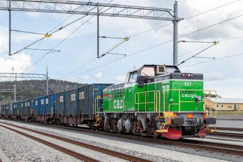 Stenas tåglösning ersätter 16 100 lastbilar per år