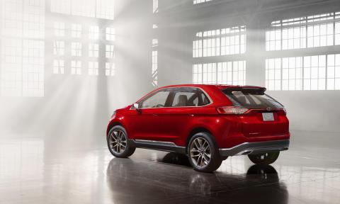 Ford Edge Concept ble første gang vist 5. des.