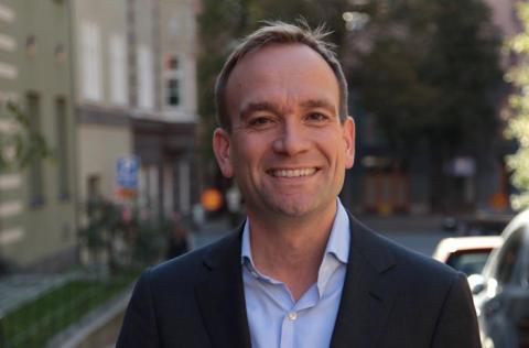 Niclas Wullt, ny Sales Director på Weber