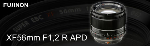 FUJINON XF56mm F1.2 R APD