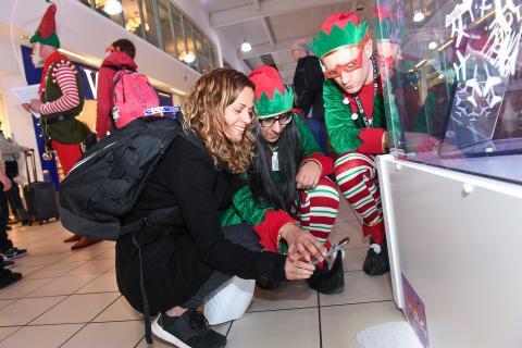 Elves on hand to help for LLA's busiest ever Christmas