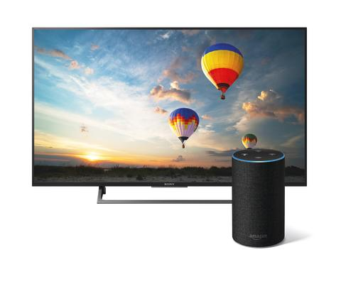 Sony BRAVIA TVs compatible with Amazon Alexa