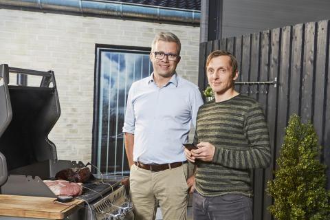 Cook Perfect Comfort - Martin Kloster og Kasper Kristensen er opfinderne bag.