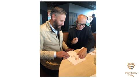 Olof Lundh ger ut bok om Svenska landslaget i fotboll på Strawberry Förlag våren 2020