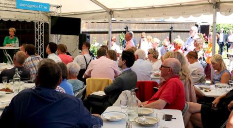 Stort intresse för sparbankernas aktiviteter i Almedalen