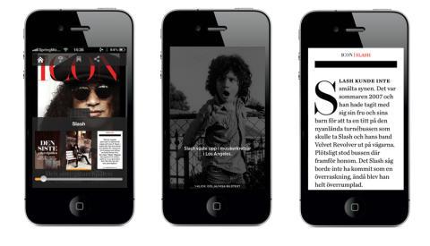 Icon i iPhone