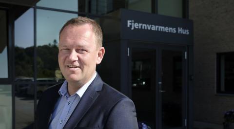 Jesper Frost Rasmussen ny formand for fjernvarmeselskabernes brancheforening