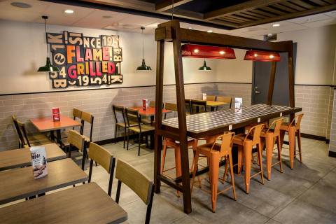 BURGER KING® åpner en restaurant på Digerneset