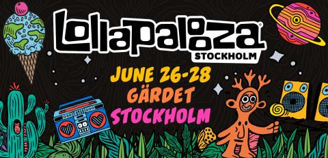 DATUM FÖR LOLLAPALOOZA STOCKHOLM 2020 BEKRÄFTADE! BLIND BIRD-BILJETTER UTE IMORGON!