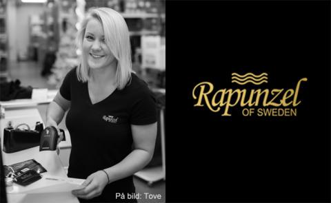 Rapunzel of Sweden skickar löshår till hela världen med hjälp av TA-systemet Unifaun Online