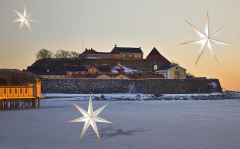 Julmarked Varbergs fästning, Halland