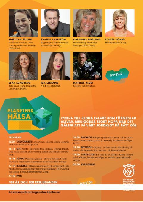 Program Planetens hälsa 17 oktober 2016