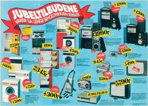 Elektronikkprisene uendret i 30 år
