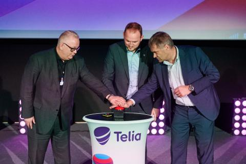 Telia Norge med 5G-pilot: verdens første 5G-kino i Oslo