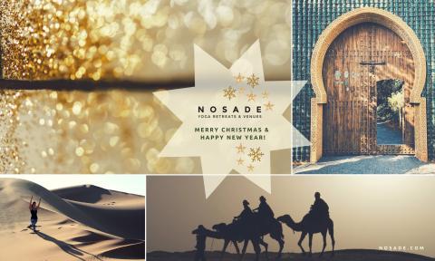 NOSADE wünscht frohe Weihnachten & einen guten Rutsch in ein gesundes, glückliches neues Jahr!