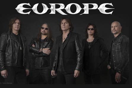 Europe klara för Dalhalla 11 juli!