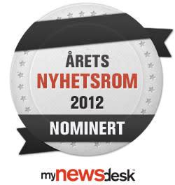 Adopsjonsforum - nominert i kåringen av Årets nyhetsrom