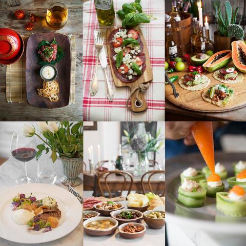 Pressbild Daniels matresa : 9 menyer från världens kök