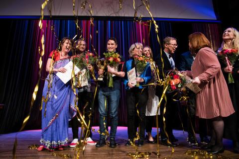 Forskarna intar scenen i Västerås
