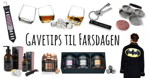 8 gavetips til Farsdagen!