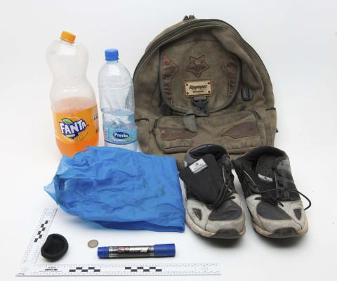 Bag and contents