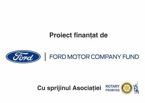 Proiect finanțat de Ford Motor Company Fund